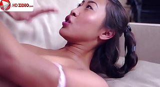 Celeste Star Sharon Lee licking her first Asian snatch HD Porn