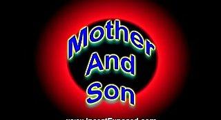 Regina and  Randy (mom son)