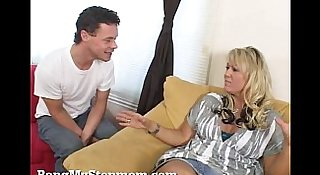 Horny MILF and Stepson Hook Up!
