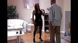 Tasia is a tasty brunette MILF who loves to eat cum