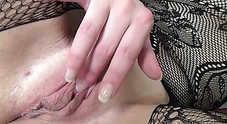 Fleshy Pussy and Redhead Multiorgasmic MILFs Masturbate Solo and Together