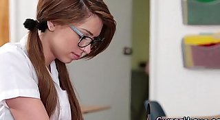 Highschool teen spex jizz