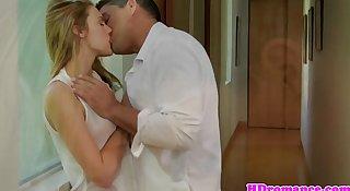 Young couple on honeymoon outdoor fun