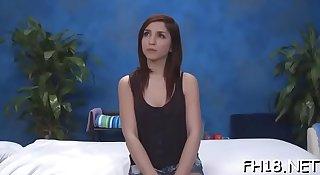 Massage parlor sex movie scenes