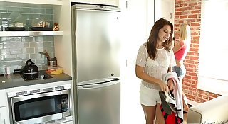 Ariana Grand and Mandy Armani POV Pussy Licking